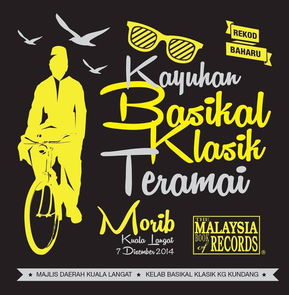 Kayuhan Basikal Klasik Teramai