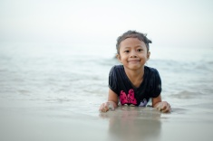 Kid; Children; Love; Sea; Pantai Kelanang