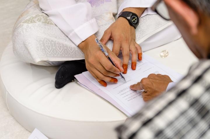 Kahwin; Melayu Kahwin: Teluk Intan